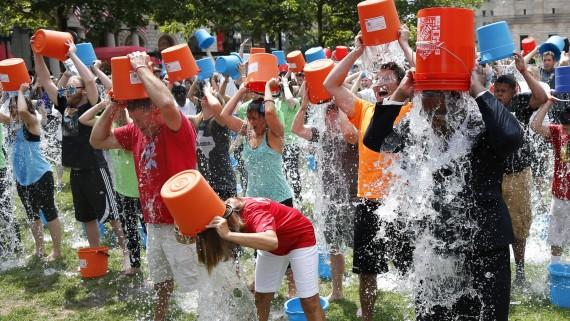 ALS Ice Bucket Challenge Photo