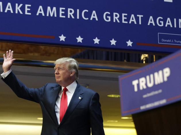 Donald Trump Running for President
